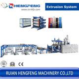 Hoja de tres capas de la línea de extrusión (HFSJ80-150-80)