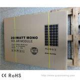 comitato solare PV del modulo monocristallino di 200W (QW-M200)