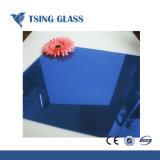 3mm-6mm barniz brillante lacado atrás vidrio pintado para la cocina