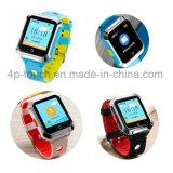 Resistente al agua Sos Kids Smart Tracker GPS Reloj con GEO-Fence Y3