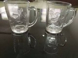 ガラスタンブラーのビールのジョッキのティーカップのガラス製品のステッカーのマグSdy-J0077