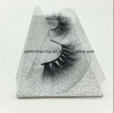100% possedere il ciglio del contrassegno privato di marca personalizza il ciglio impaccante del visone 3D