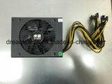 электропитание минирование 1600W для поддержки Rx горнорабочей ATX 470/480 Rx 570/580 минирование PSU видеокарты 6 GPU