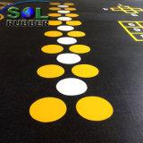 Área de Servicio Pesado antideslizante alfombra de suelo de caucho