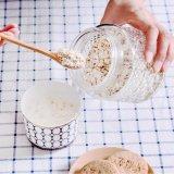 Домашняя кувшин для хранения продуктов питания из стекла ресивера