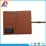 Binding кожаный карманная тетрадь блокнот с связывателем металла