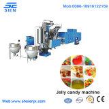 Shanghai control PLC automático caramelos gomosos de depositar la línea de producción
