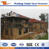 Sudáfrica prefabricados de la luz de la casa de estructura de acero de construcción