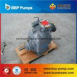 Bomba de agua accionada por el motor diesel móvil