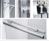 Двойное сползая вспомогательное оборудование ванной комнаты кабины ливня шкафа ливня двери ливня Tempered стекла