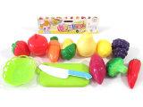 Juego de cocina juego de juguetes de corte de alimentos y vegetales para niños