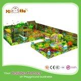 EVA-Fußboden-Matten-Typ Innenspielplatz mit grosser Trampoline