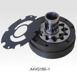 油圧オイル満ちるポンプエンジン部分の滑りポンプA4vg180料金ポンプ予備品