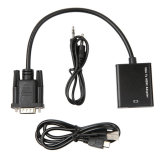 VGA Male to HDMI Female Cables 1080P EL-1316ia