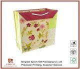 Chinesische Fabrik-Großverkauf-Papppapier-Einkaufstasche, Papiergeschenk-Beutel