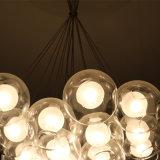 Светильник европейской гостиницы декоративный ясный стеклянный круглый привесной