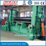 W11S-40X4000 3 롤러 유압 보편적인 탄소 강철 플레이트 회전 기계