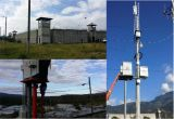 Emisión 2400MHz, 1500MHz, señal teledirigida y señal 5800MHz. de la señal del Uav del abejón de la transmisión de la imagen