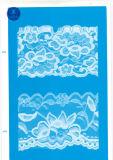 Laço largo ordinário para a roupa/vestuário/sapatas/saco/caso 3131 (largura: 7cm)