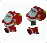 クリスマスのストッキングの形USBのフラッシュ駆動機構