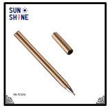 Crayon lecteur de cuivre épais de crayon lecteur de luxe en gros en métal pour le cadeau d'affaires