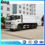 Caminhão de lixo do compressor de China 4X2/compressor do lixo que recicl o caminhão