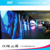 Afficheur LED chaud Screen de Sell P4mm SMD2121 Full Color Curved avec 140 Degree View Angle