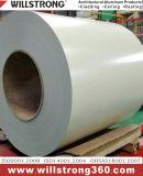 Bobine d'aluminium prépeint avec différentes couleurs