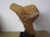 Chapéu de palha da senhora Cubeta Sun do lazer