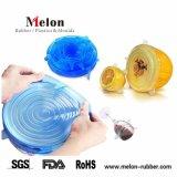 실리콘 Reusable Stretch Lids Foods와 Bowls Covers