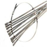 À prova de abraçadeiras metálicas de aço inoxidável para uso na indústria de energia