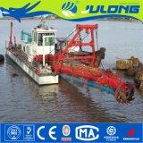 Julong draga de la succión del cortador de 10 pulgadas/draga de la arena