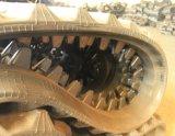 Pista di gomma (350*100*53) per lo scaricatore dell'elemento portante del cingolo di Morooka Mst300vd