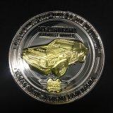 Moneta su ordinazione di sfida del metallo