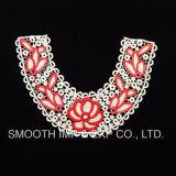 卸し売りカラー女性の取り外し可能な花によって刺繍されるアップリケのレースカラー衣服