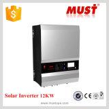 Низк-частота Solar Inverter 10kw ISO9001 Factory с 120A MPPT Solar Charge Controller