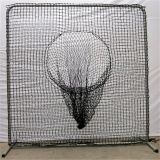 Neuer Entwurfs-bewegliches Ziel-Rückstoss-Baseball-Trainings-Netz mit Pfosten