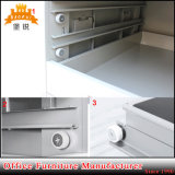 Gabinete lateral do desenho do metal barato do preço