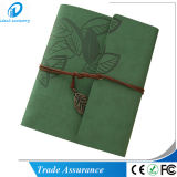 Leaf Pattern Leather DIY Cartboard Photo Album Album Scrapbook