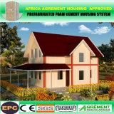 Простой сегменте панельного домостроения каюты Домик Румынии Переносной контейнер из сборных конструкций дома