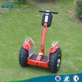 機械装置の指令を用いる自己のバランスをとる手段、EUの標準電気スクーター、軽い電気一人乗り二輪馬車