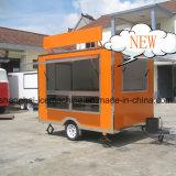 De Aanhangwagen van de Catering van het voedsel, de Mobiele Vrachtwagen van de Keuken voor Verkoop jy-B27