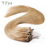 Cabelos lisos 16 Polegadas máquina feita Remy Hair Micro Anel Loop 100% de cabelo humano prorrogação 25s/Pack todas as cores Micro Links do cordão
