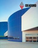 Überzogenes zusammengesetztes Aluminiumpanel Foshan-PVDF für Wand-Dekoration (AF-403)