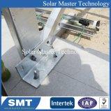Support de montage solaire de l'aluminium mi collier de serrage des colliers de encadrées de rayonnage solaire