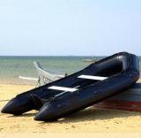 Aqualand 13pies 4,25m de rescate inflables lancha de goma/militar Barco (NCA425)