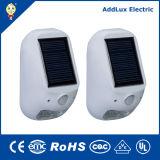 1W Blanco cálido de la Energía Solar Powered LED Lámpara de exterior