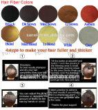 do tratamento unisex da perda de cabelo da parte alta 25g/28g fibras naturais