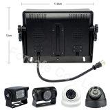 """"""" sistema della macchina fotografica del cavo di retrovisione del veicolo del quadrato 1080P 7"""