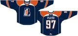Hokey di ghiaccio domestico personalizzato della strada delle giacche sportive 2005-2016 occidentale di Kamloops della Lega di Hockey dei capretti delle donne degli uomini Jersey